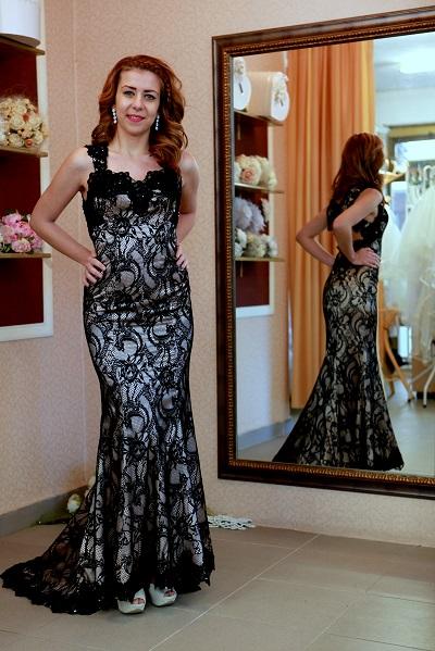 вечерна рокля Шик