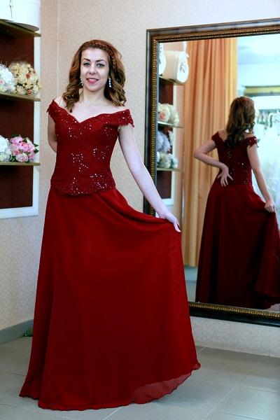 вечерна рокля Оливия