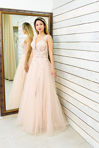 вечерна рокля Моника