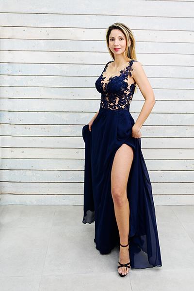 официална рокля Нора